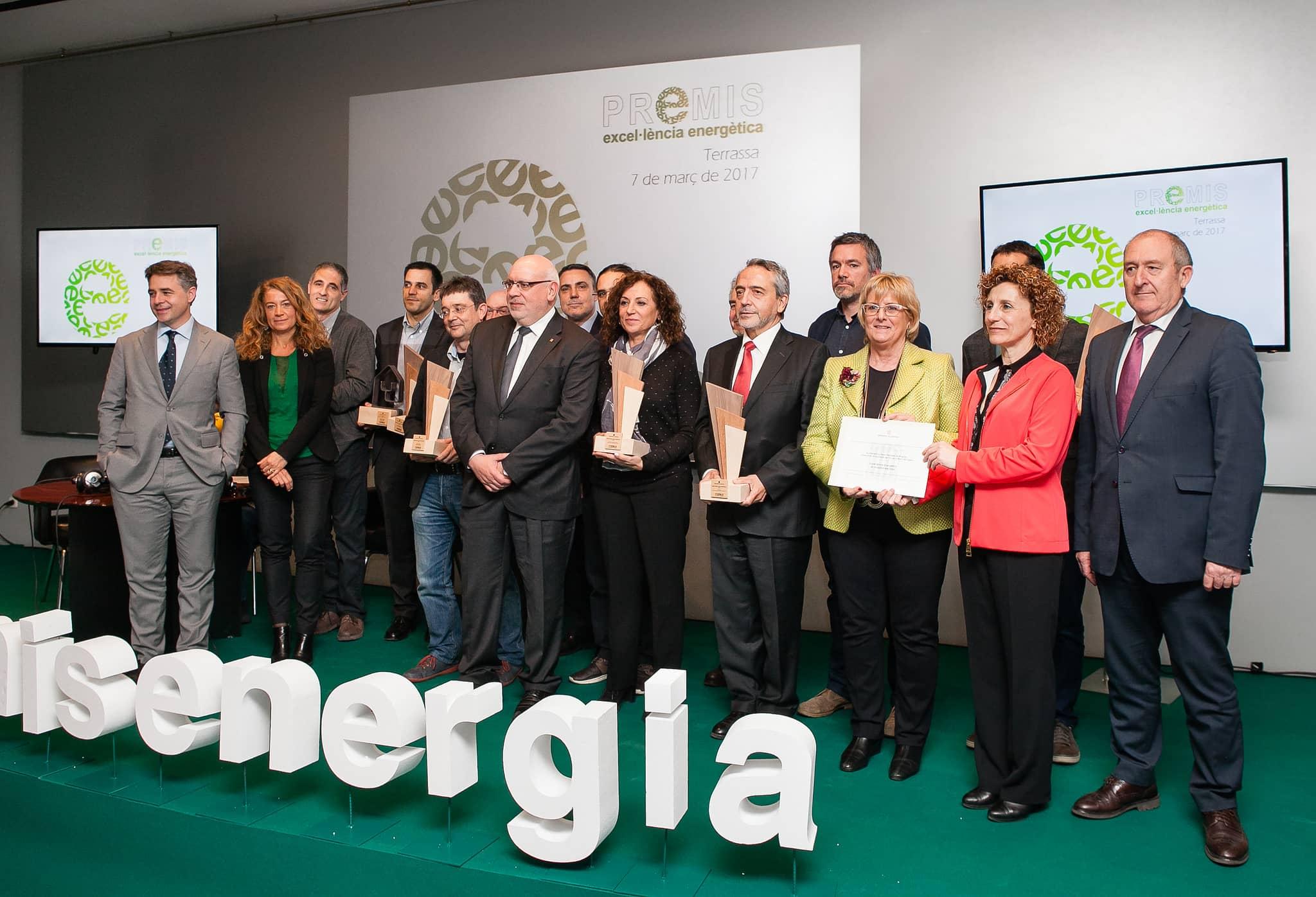 SUD Renovables rep el Premi d'Excel·lència Energètica 2017 en la modalitat d'Internacionalització