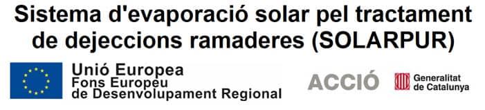 Imagen Sistema d'evaporació solar pel tractament de dejeccions ramaderes (SOLARPUR)