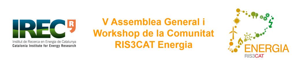 Presentació de la propera Assemblea General i Workshop de la Comunitat RIS3CAT Energia