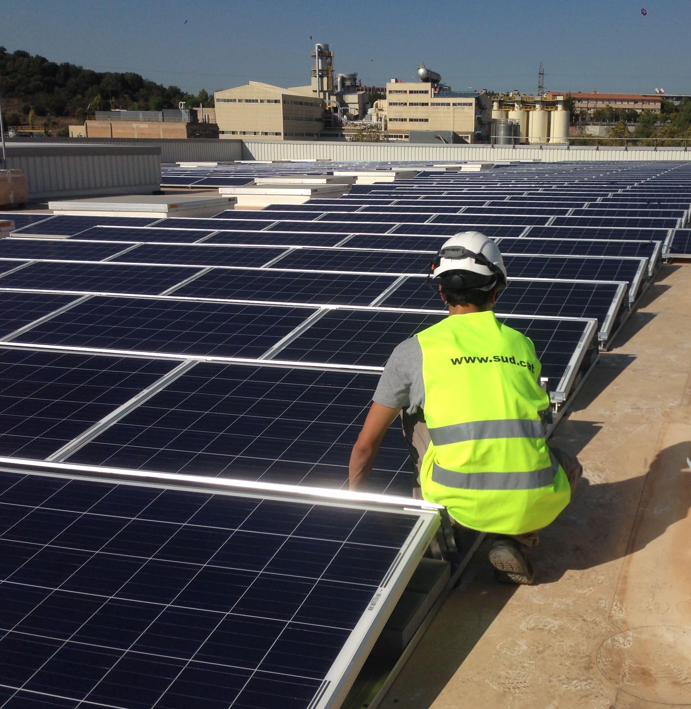 SUD Renovables bat el seu rècord d'instal·lació fotovoltaica i supera els 5 milions d'euros de facturació