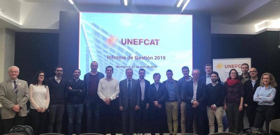 Manel Romero y Daniel Pérez, nous representants de UNEFCAT