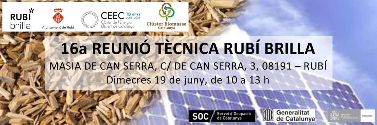 16a REUNIÓ TÈCNICA RUBÍ BRILLA