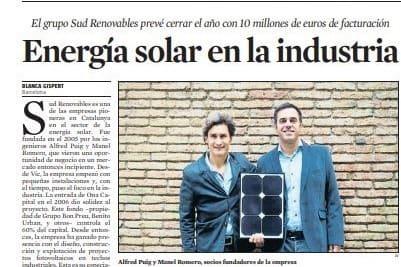 Som notícia a La Vanguardia