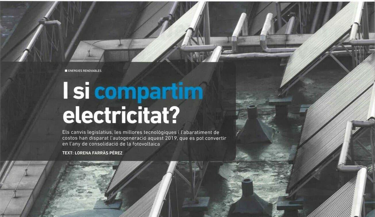 "Notícia: ""I si compartim electricitat?"""