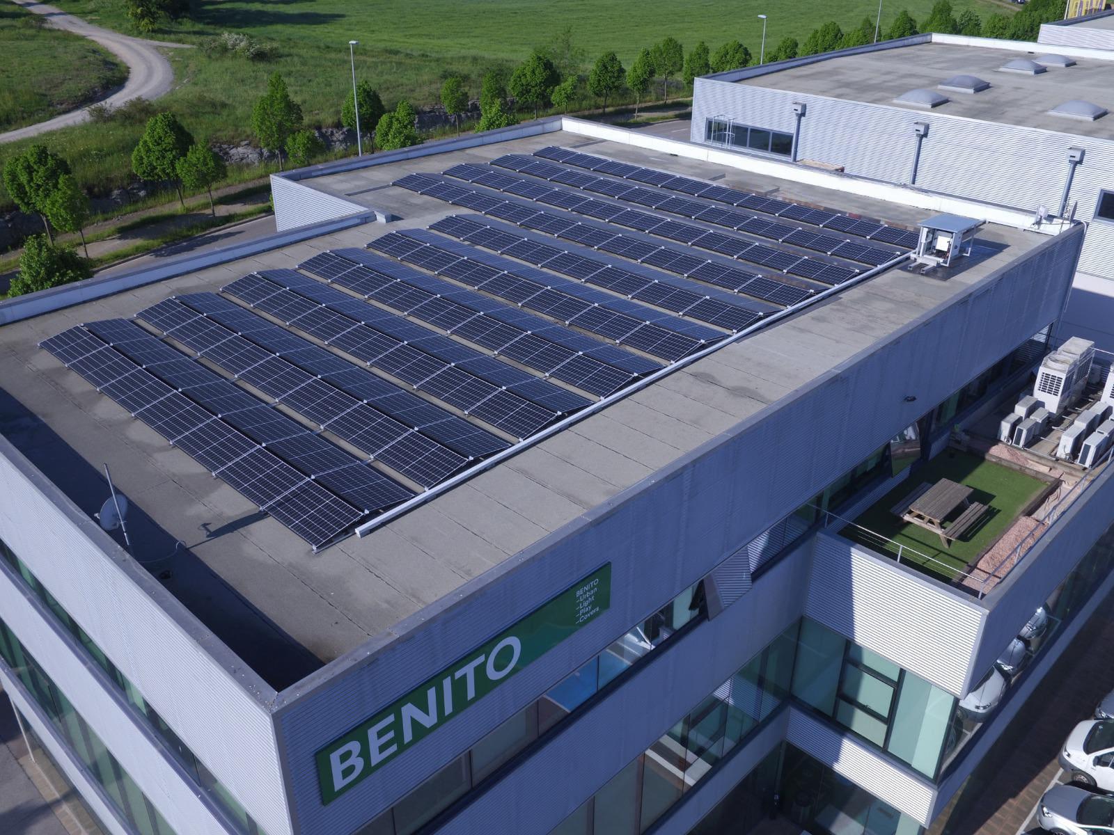 Benito Urban: instal·lació amb dues orientacions