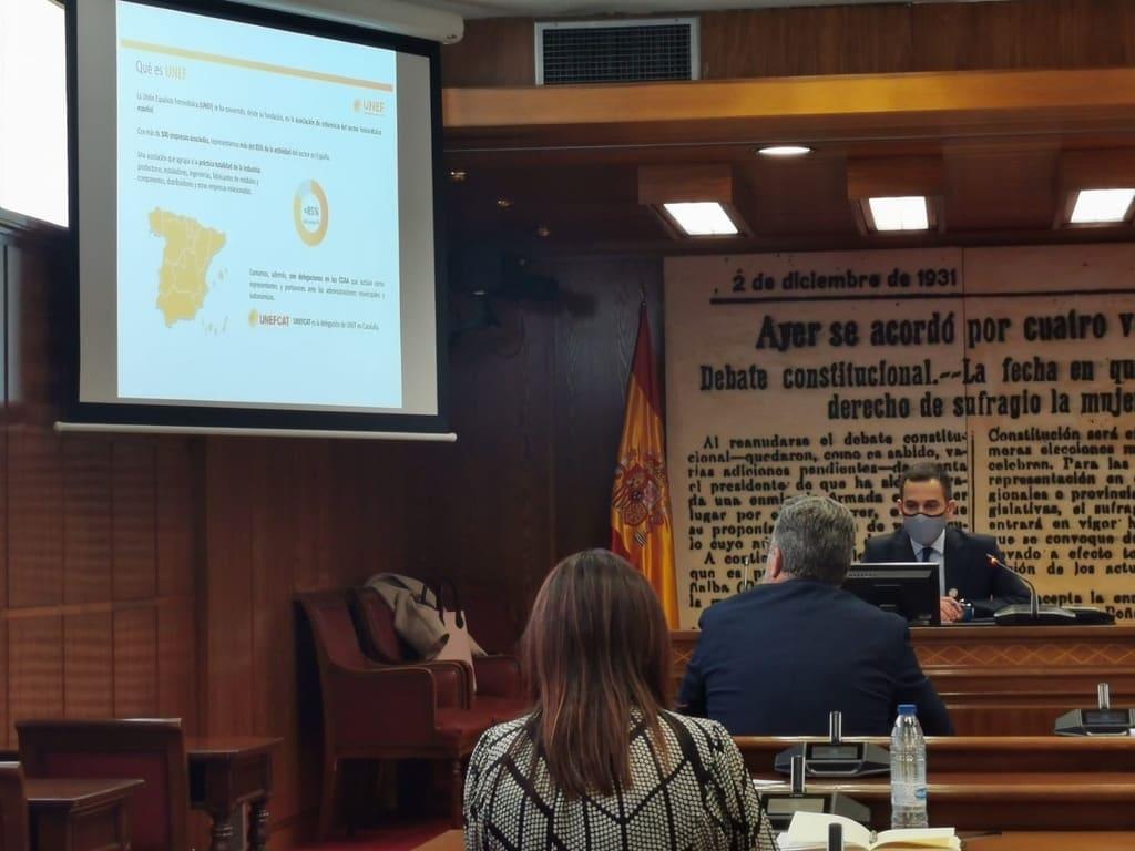 Manel Romero SUD Renovables senado