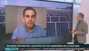 SUD Renovables Panells solars TV3