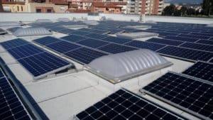 Bon Preu Manlleu panells solars empreses