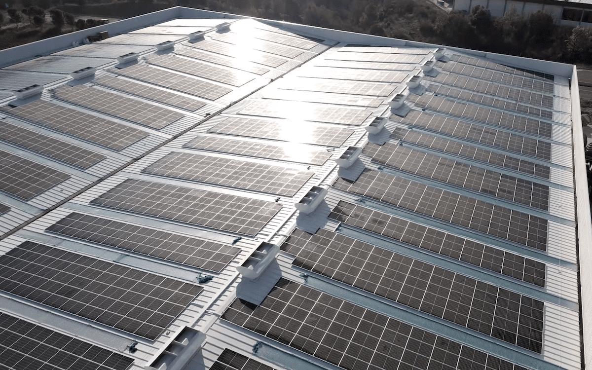 Instalación fotovoltaica Sallent   Sud renovables