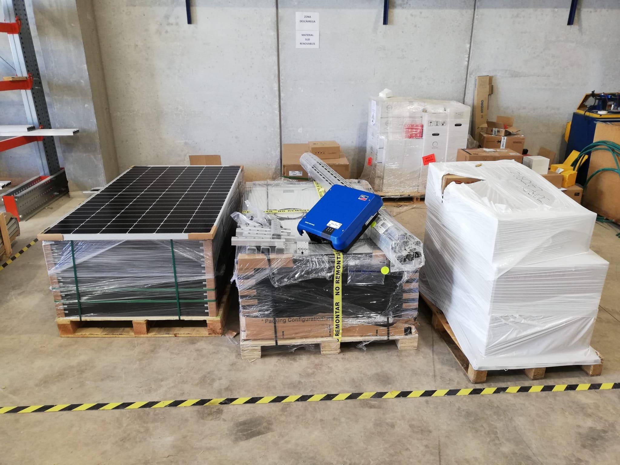 Instalacion kit placas solares