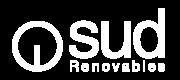 Logo SUD Renovables en blanc 2020